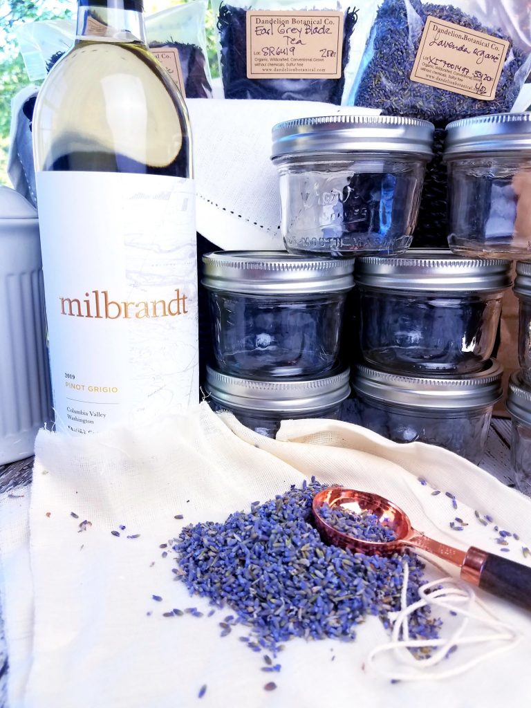 Lavender and White Wine Jelly